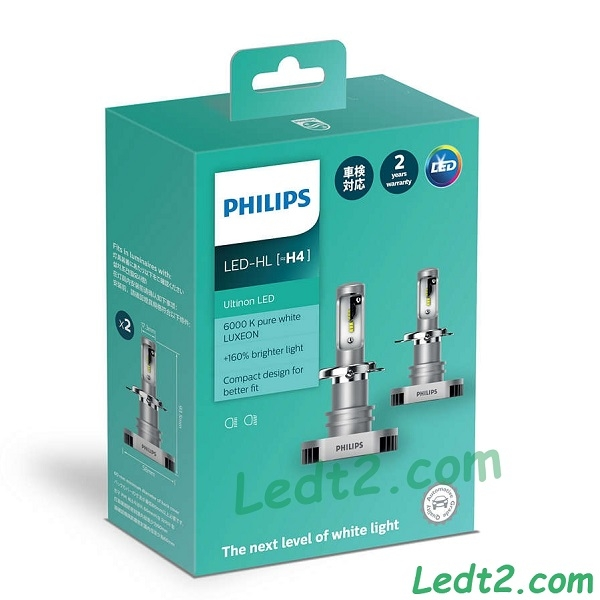 Đèn pha LED Philips Ultinon +160%
