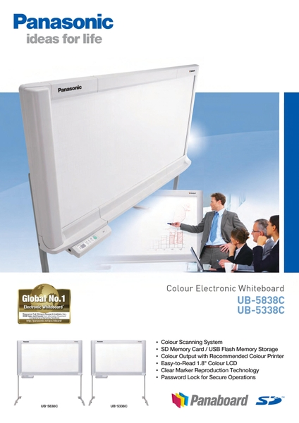 Catalogue Bảng Panaboard 5338