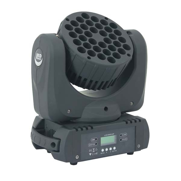 36 LED MOVING HEAD BEAM