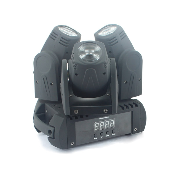 3×10W RGBW Moving Three Heads Beam