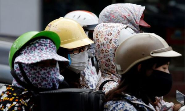 Hanoi air quality improves, still among Southeast Asia's worst
