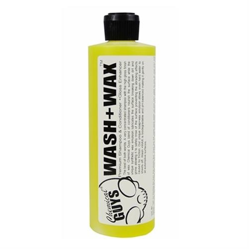 Wash & Wax Car Shampoo With Gloss