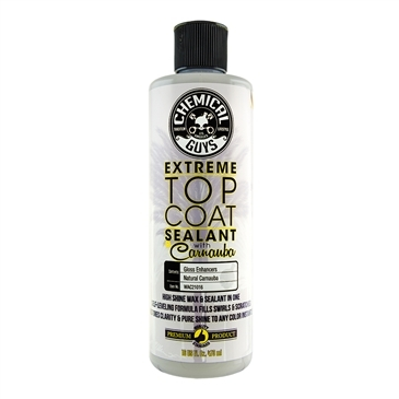 Extreme Top Coat Carnauba Wax And Sealant In One (16 oz)