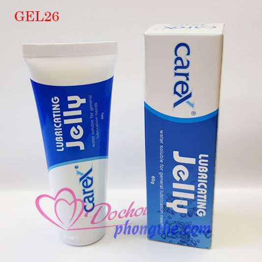 Gel Bôi Trơn CareX Jelly Classic