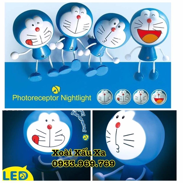 Đèn led Doraemon