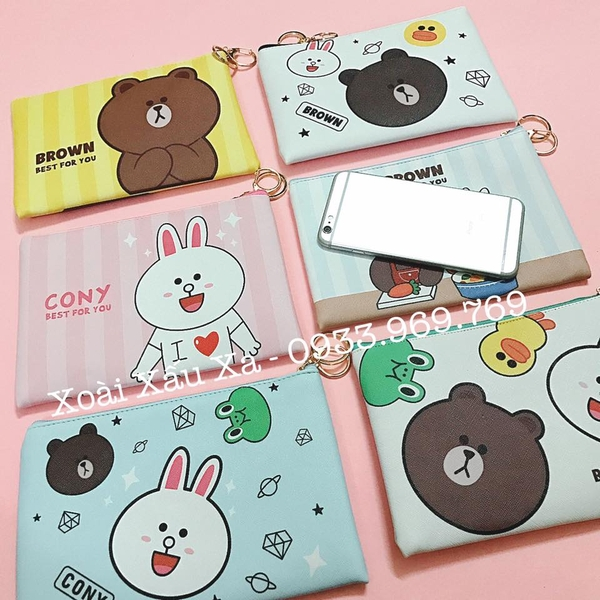 Clutch cầm tay LINE FRIENDS