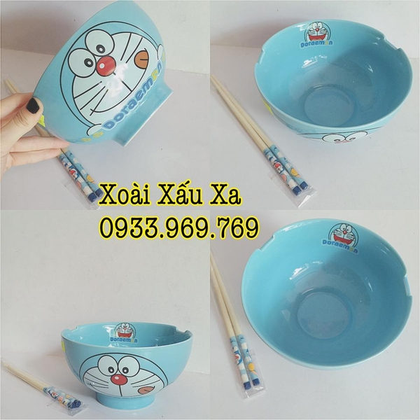 TÔ SỨ KITTY-ĐORAEMON