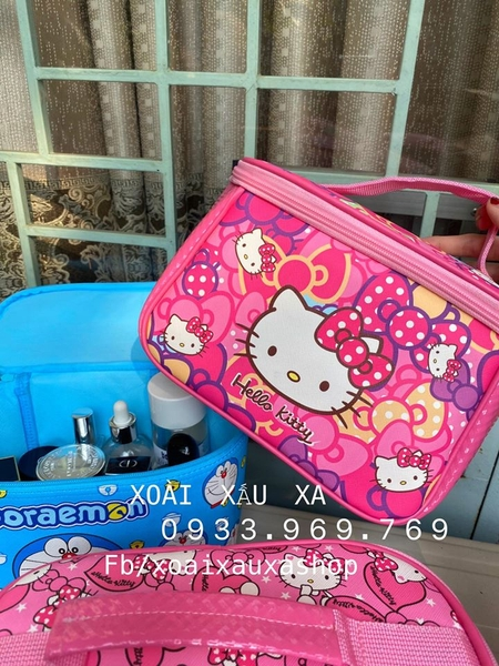 TÚI ĐỰNG MAKE-UP, NAIL KITTY - ĐORAEMON