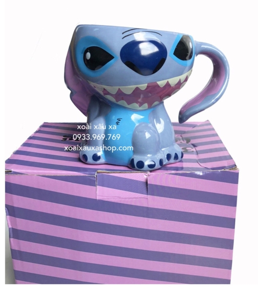 LY SỨ STITCH DISNEY 3D