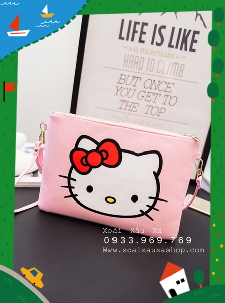 Túi chéo clutch kitty