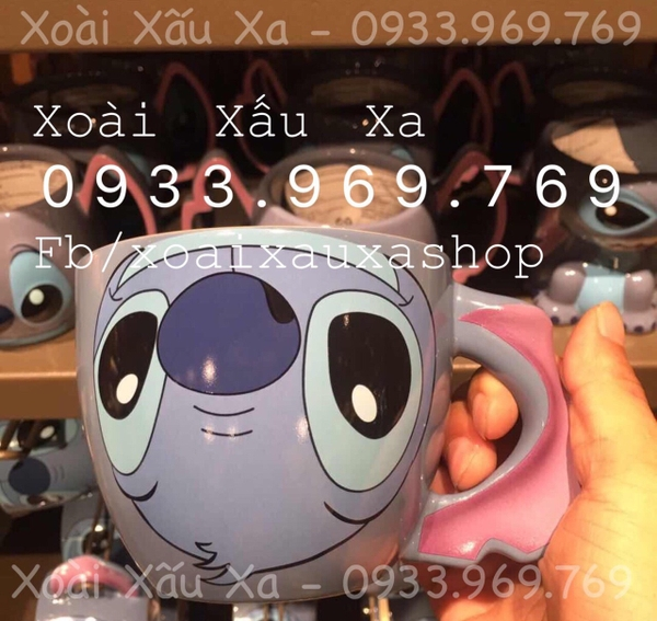 LY SỨ DISNEY STITCH