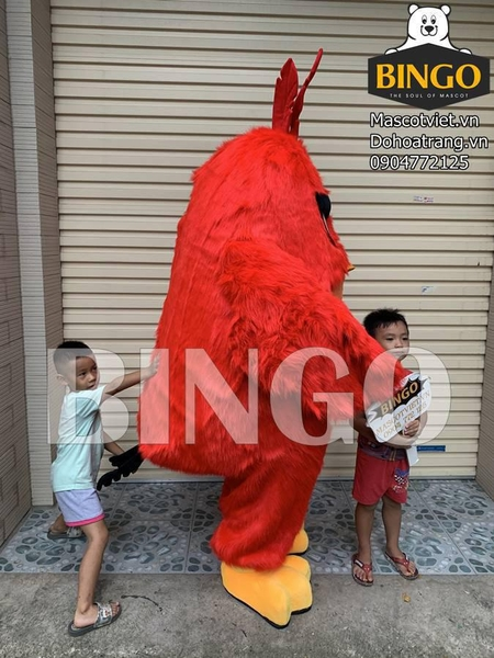 mascot angry birds