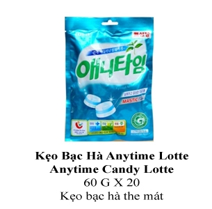 Lotte Anytime Candy