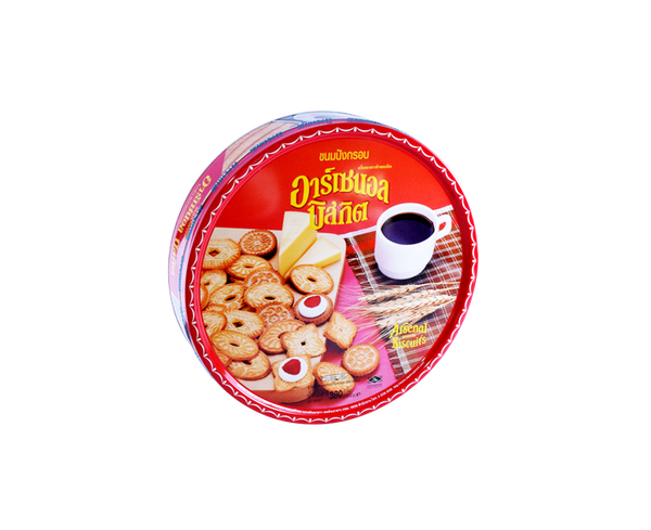 "BÁNH QUY BƠ ""ARSENAL"" – ARSENAL ASSORTED BISCUITS (380gr)"