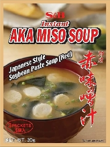 S&B aka miso soup - quick serve - 3 sachets