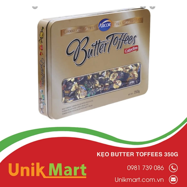 Kẹo Butter Toffees 350g