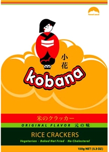 Kobana Rice cracker Original (Senbei)