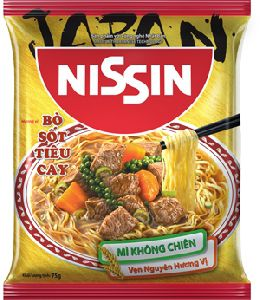 Nissin Non-fried Noodle - Beef with Spicy Pepper Sauce Flavor