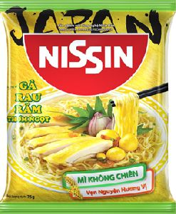 Nissin Non-fried Noodles - Chicken with herbs