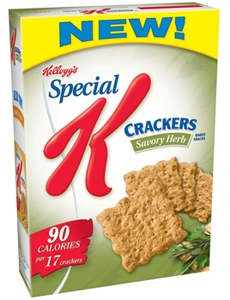 Kellogg Special K Herb Crackers