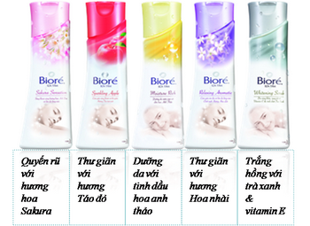 Bioré Body foam