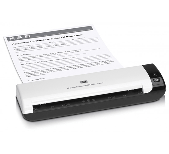 Máy scan HP Professional 1000 Mobile Scanner (L2722A)