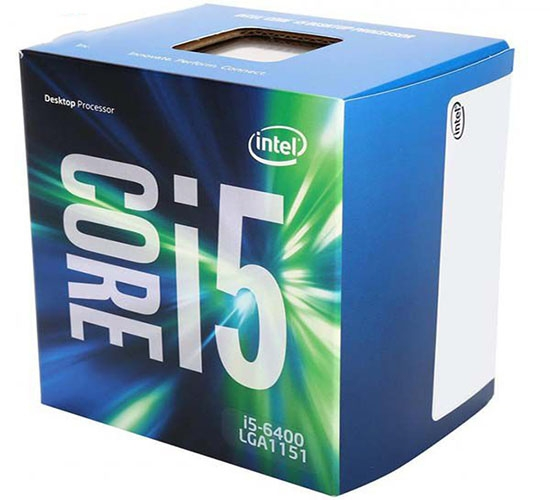 CPU Intel Core i5-6400 - 2.7 GHz/ 6MB/ Socket 1151 (Skylake)