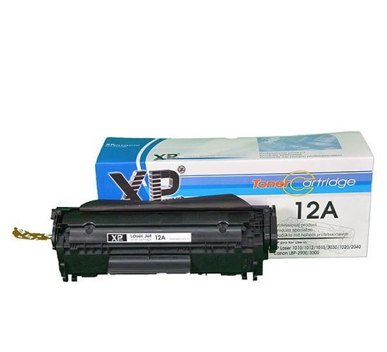 Hộp mực in Xppro 12A dùng cho máy in laser HP Canon