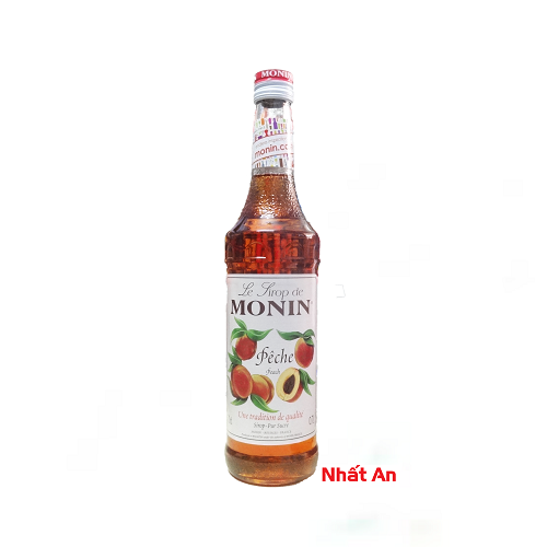 Siro Monin Peach 700ml/ Đào Monin 700ml
