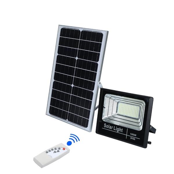 Đèn pha 100W năng lượng mặt trời JIDIAN JD-8800L