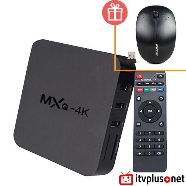 Android TV Box MXQ 4K RK3229