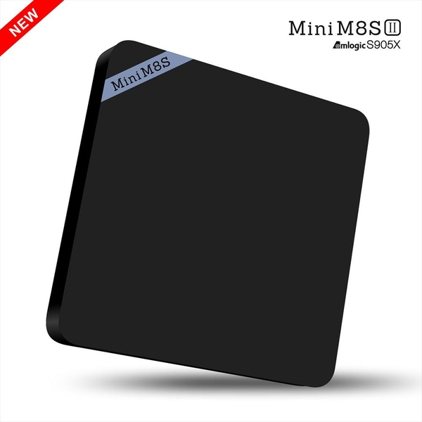 TV BOX MINI M8S-II Amlogic S905X, 2G RAM, Android 6.0