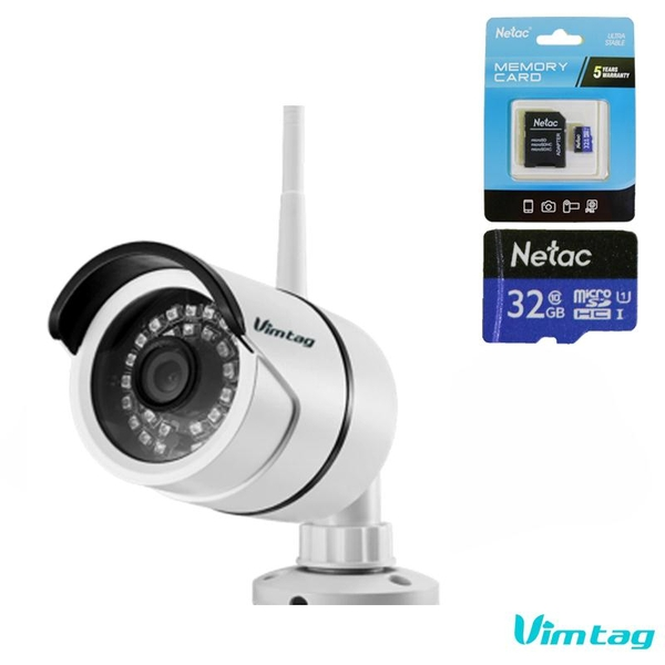 [Combo] Camera B1-S 1080P kèm Thẻ nhớ Kingston 32GB