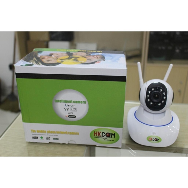 Camera IP WiFi HKCam Y6 - 1.3MP - HD 960P, 2 anten Wifi