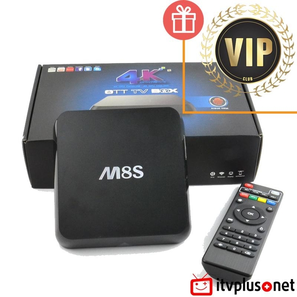 Android TV Box M8s - Amlogic S812 - Giá rẻ
