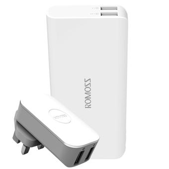 Sạc Romoss iCharger12 - 2 cổng USB Out