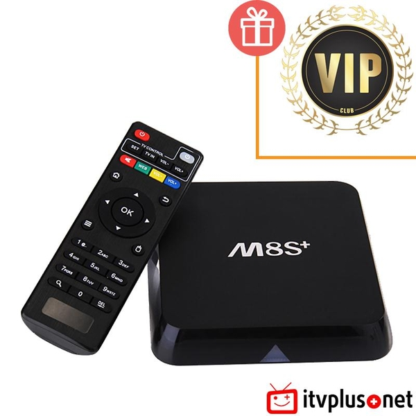 Smart TV Box M8s Plus (M8s+) Android 5.1 giá rẻ