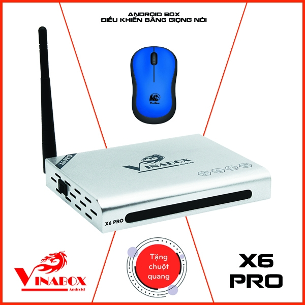 VINABOX X6 PRO - RAM 2GB, VINABOX MỚI NHẤT 2020