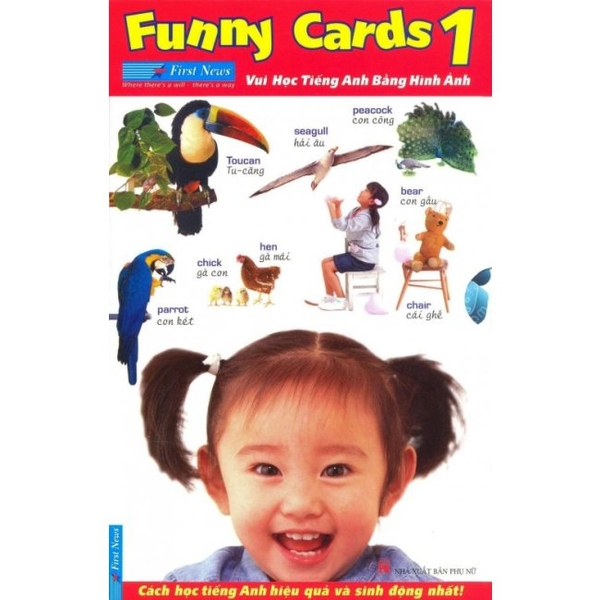 Funny Cards T1(Bộ 3 Cuốn)