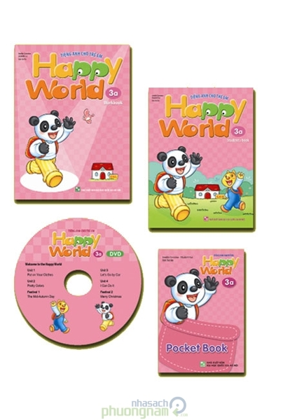 Tiếng Anh Cho Trẻ Em Happy World 3A: Students Book