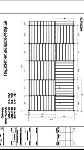 Bản thiết kế nhà khung thép và sàn bê tông nhẹ