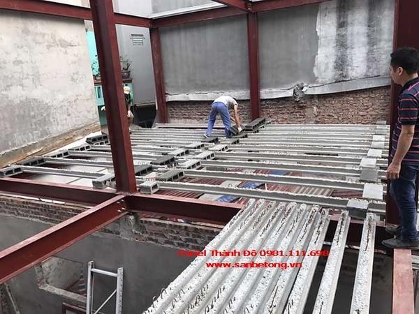 Lắp đặt gạch bê tông nhẹ