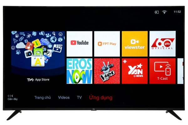 Smart Tivi TCL 4K 65P65-UF 65 inch UHD, LED TV