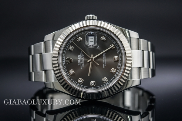 Review đồng hồ Rolex Datejust II