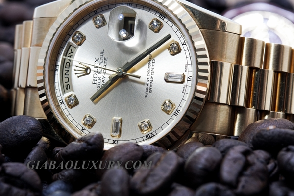 Review đồng hồ Rolex President Day-Date 118238