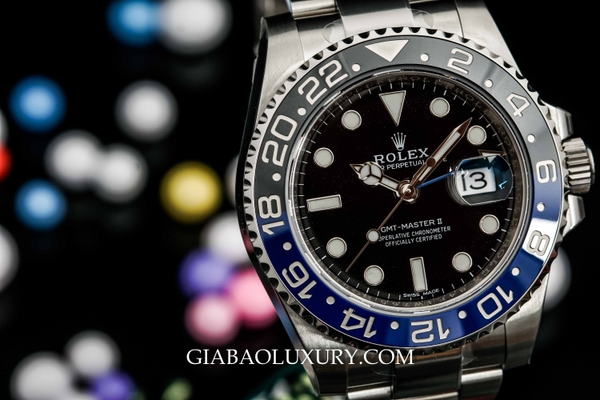 Review đồng hồ Rolex GMT-Master II 116710BLNR