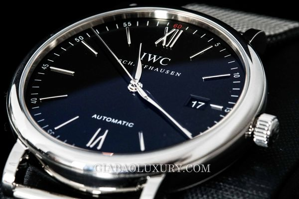 Review đồng hồ IWC Portofino Black Dial Stainless Steel