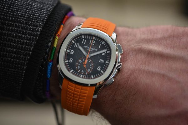 Baselworld 2018: Đồng hồ Patek Philippe Aquanaut 5968A-001