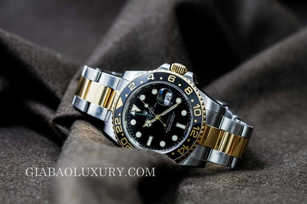 Review đồng hồ Rolex GMT-Master II 116713LN