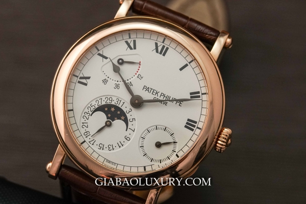 Review đồng hồ Patek Philippe Moon Phase Power Reserve Rose Gold 5054R